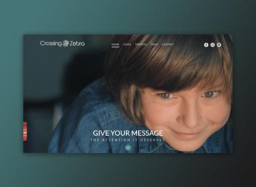 Crossing Zebra - Website Creatie