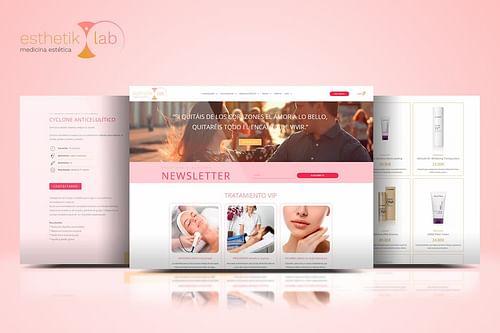 Esthetik Lab Medicina Estética - Creación de Sitios Web