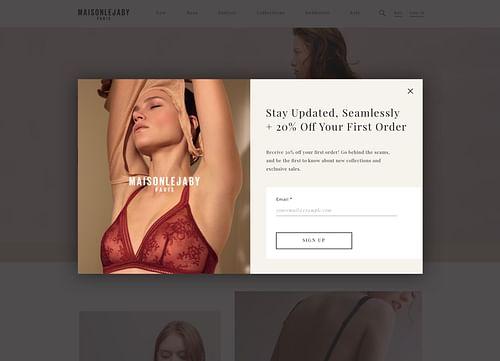 Branding & (E-Commerce) Web Design for Retailer - Website Creation