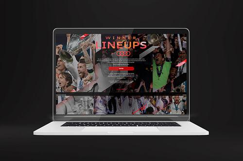 Generación de leads - Real Madrid C.F. - Creación de Sitios Web