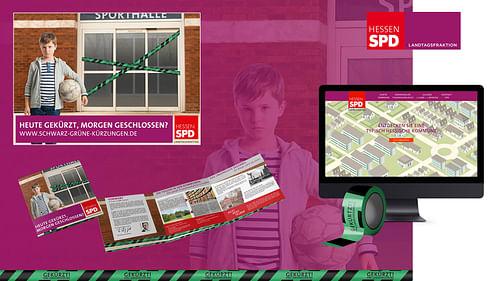 SPD Hessen – Kampagne Kommunaler Finanzausgleich - Social Media
