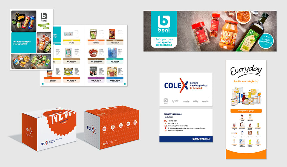Selling Colruyt products round the world