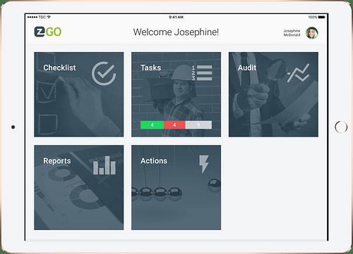 EZ Factory - App for the factory floor - Mobile App