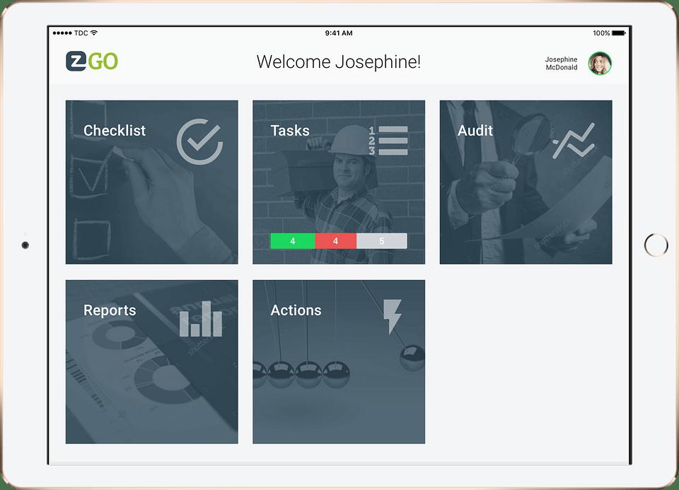 EZ Factory - App for the factory floor