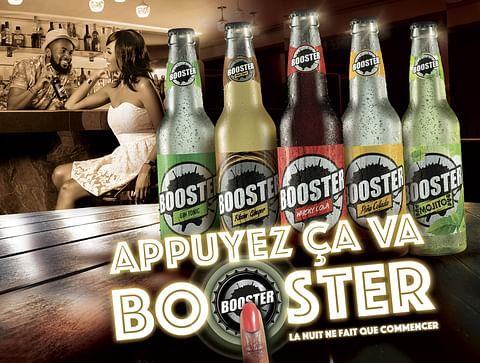 CASTEL launch premix BOOSTER en Afrique