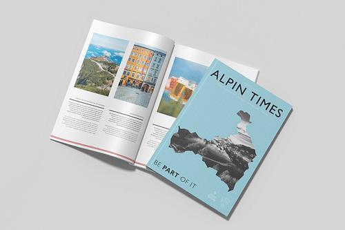 Alpin Rentals -  Brochure & Magazine - Social media
