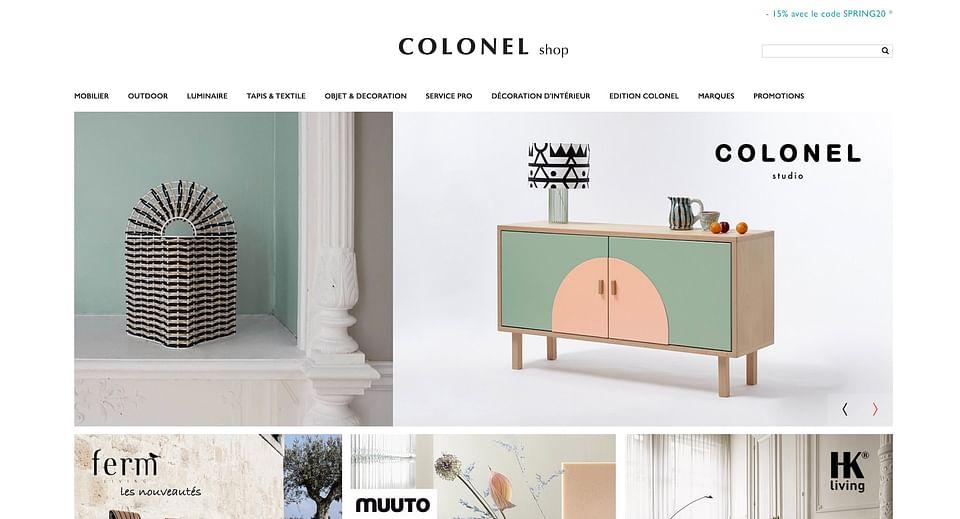 Site E-commerce MonColonel.fr