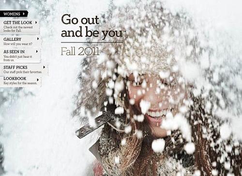 Timberland - Womens Fall 2011 - SEO