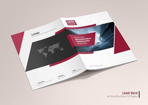 Company Profile Design for Lead Tacs