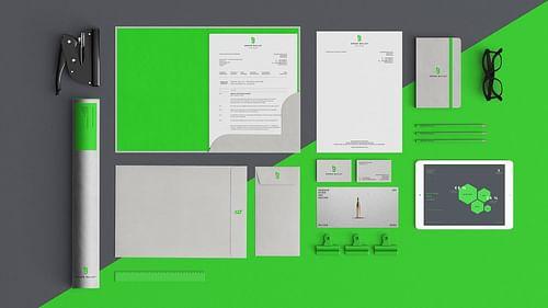 Green Bullet – Branding - Grafikdesign