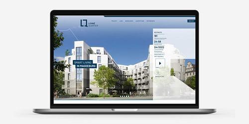 LennéQuartier / Markenentwicklung - Webseitengestaltung