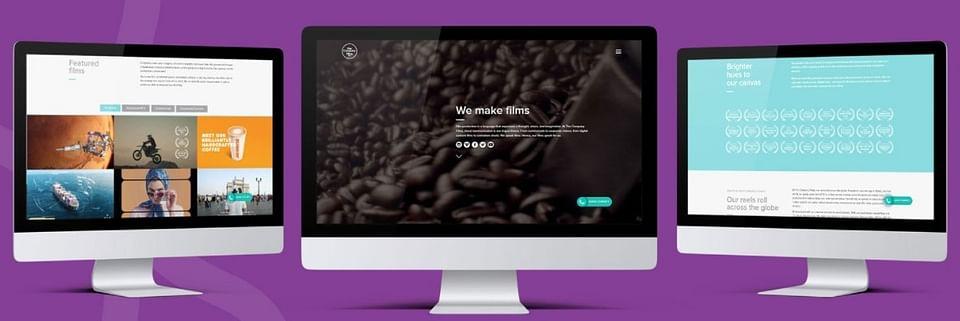 Website Development for Film Production Company