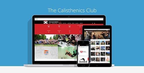 The Calisthenics Club - Website Creatie