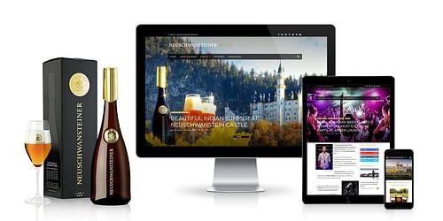Neuschwansteiner – Luxury-Marketing - Webanwendung