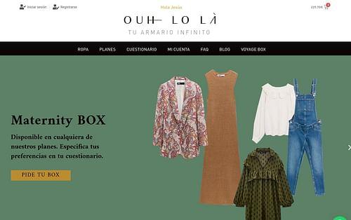 Web OuhLola.com - Creación de Sitios Web