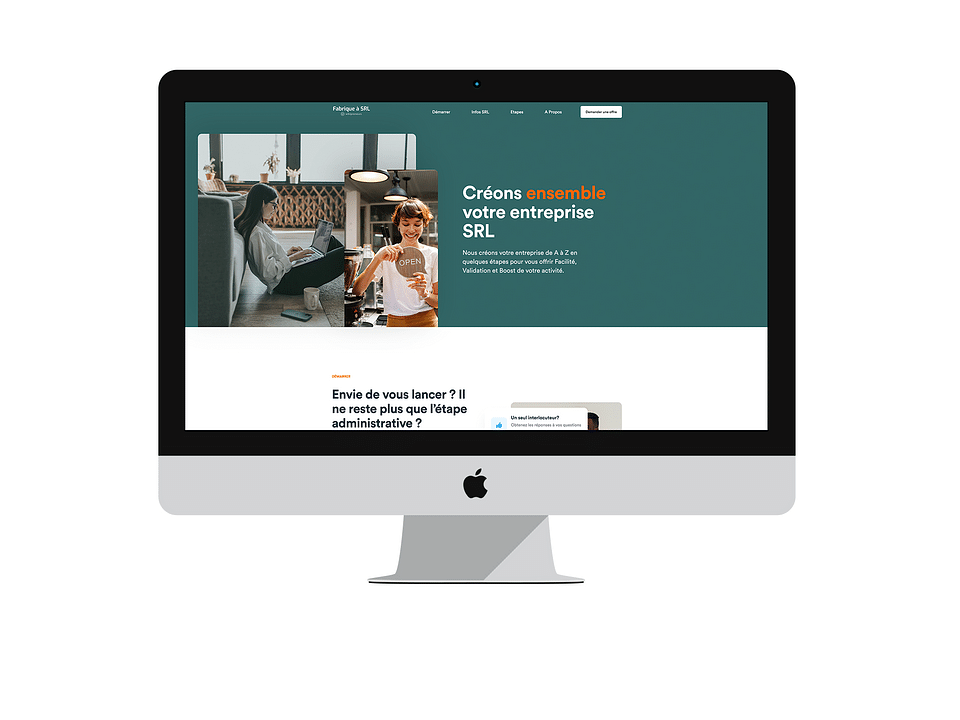 Site internet La Fabrique à SRL