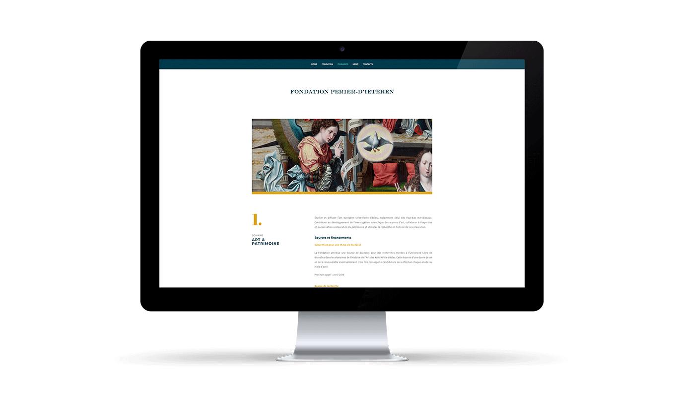 Website design & development for Perier-D'ieteren - Création de site internet