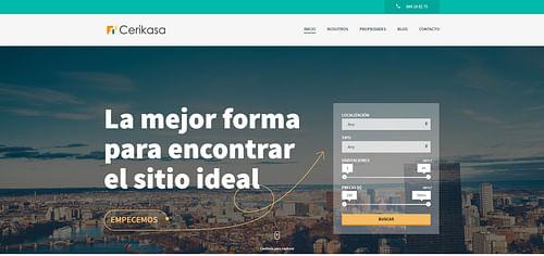 Cerikasa - Creación de Sitios Web
