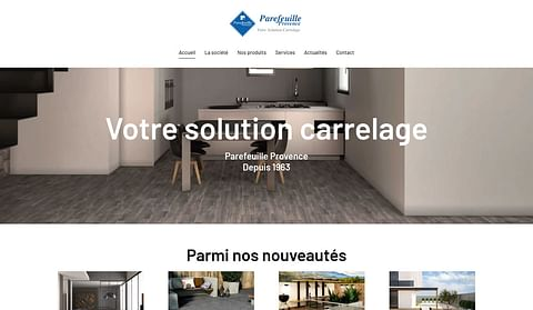 Refonte web : Parefeuille Provence