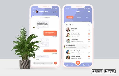 ChatHere | Application Web - Ergonomie (UX/UI)