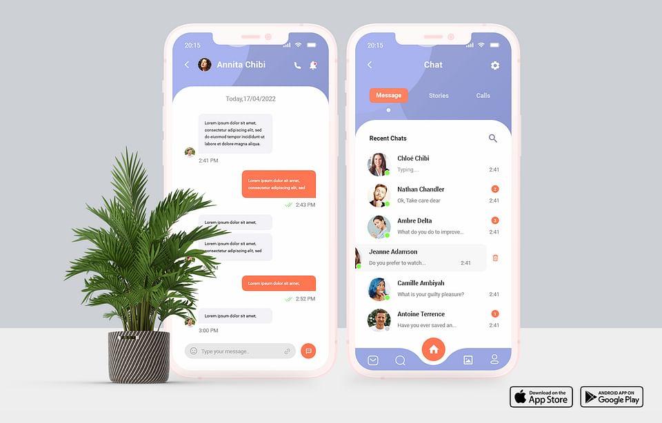 ChatHere | Application Web