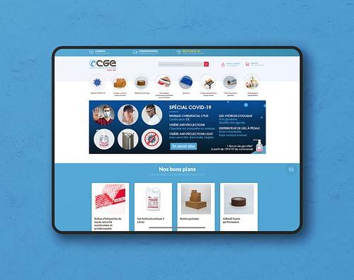 Le Comptoir Général d'Emballage - Création de site internet