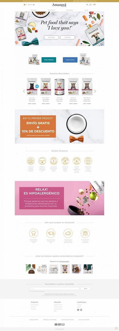 Ecommerce Prestashop - E-commerce