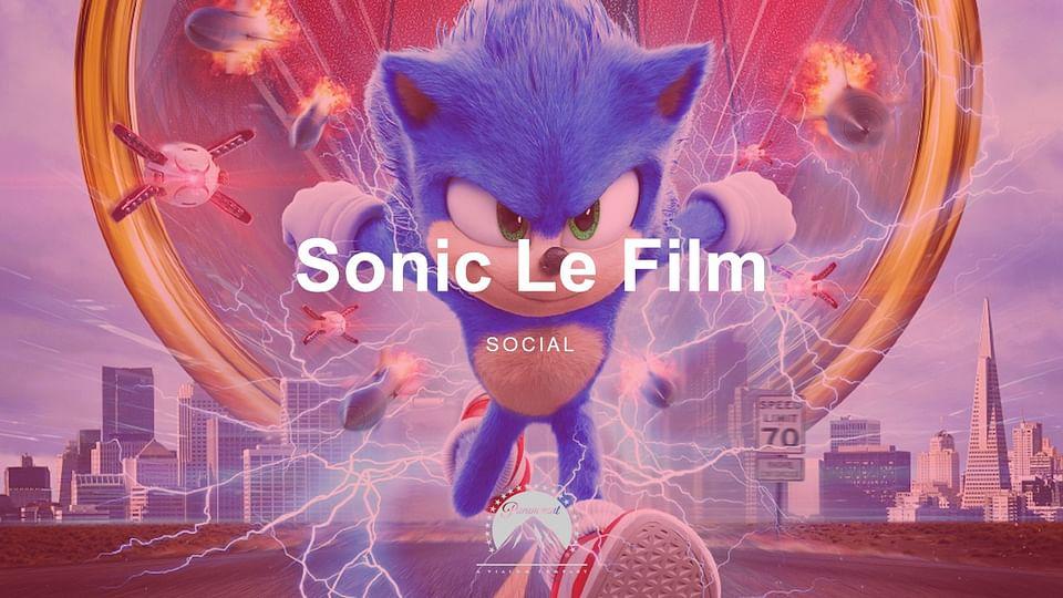 Sonic Le Film - Social