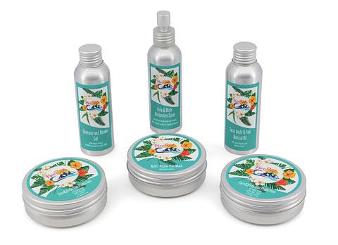 Packaging for FreeRide Cosmetics
