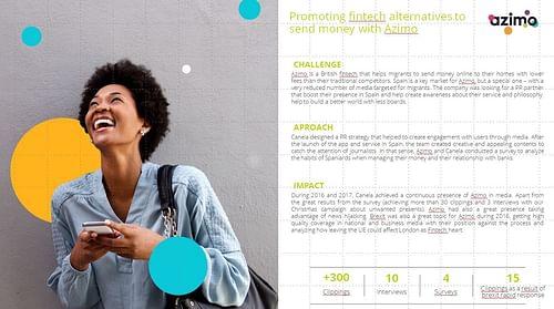 Promoting fintech alternatives to send money with - Estrategia digital