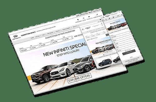 COMPETITION INFINITI MARKETING - Website Creation