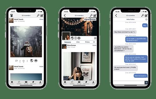 heypster - Application mobile