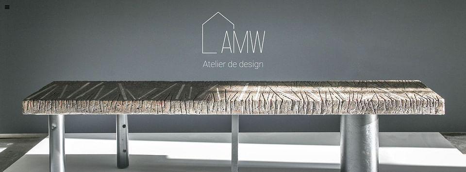 Site internet pour AMW Design