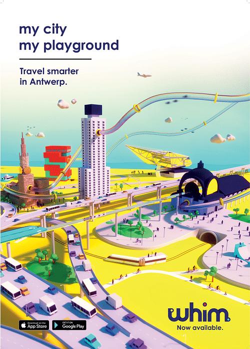 Whim, my City, my Playground - Image de marque & branding