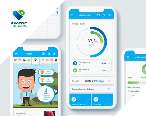 Avatar da Saúde - Mobile App