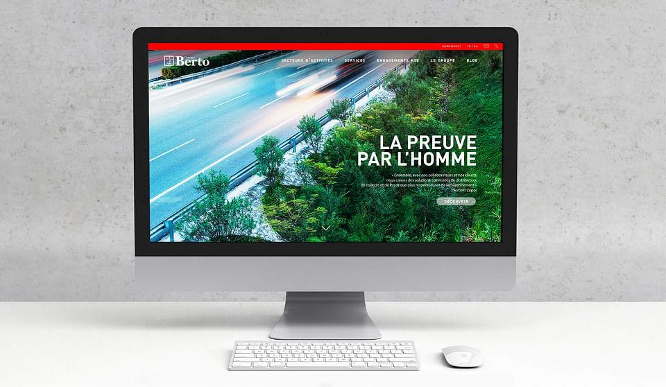 GROUPE BERTO |  Stratégie et site internet