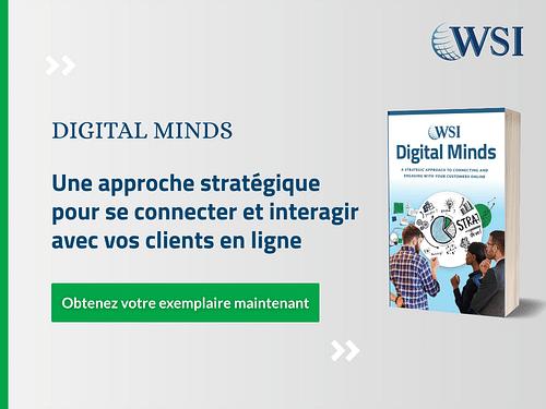 Digital  Minds - une approche stratégique - Web Application