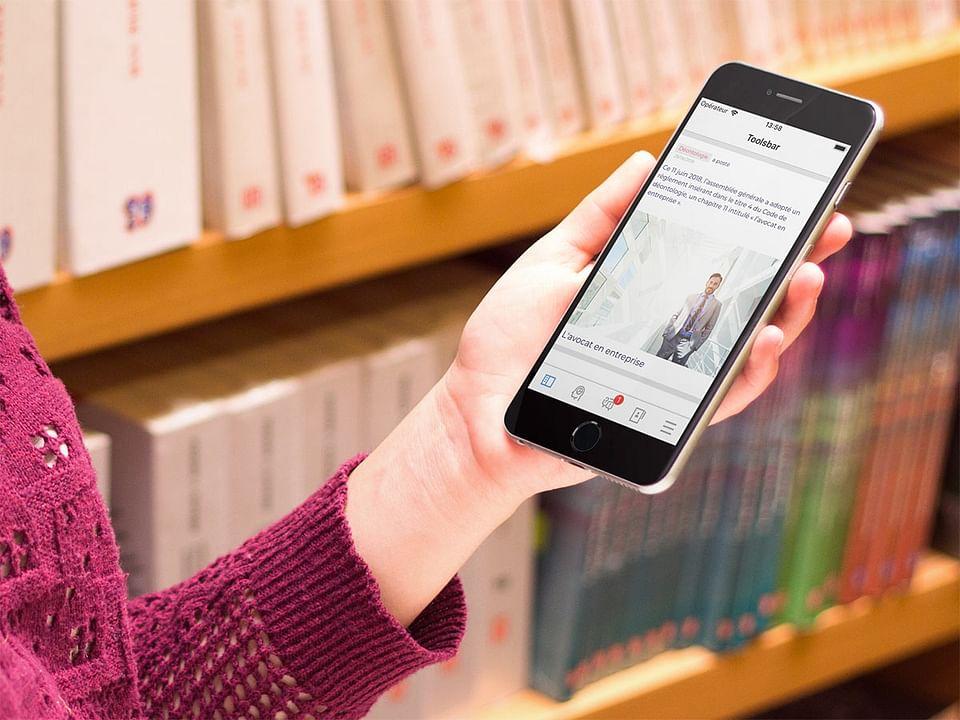 TOOLSBAR : l'app mobile des avocats