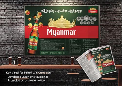 Myanmar Beer Instant Win Campaign 2018 - Branding & Positioning