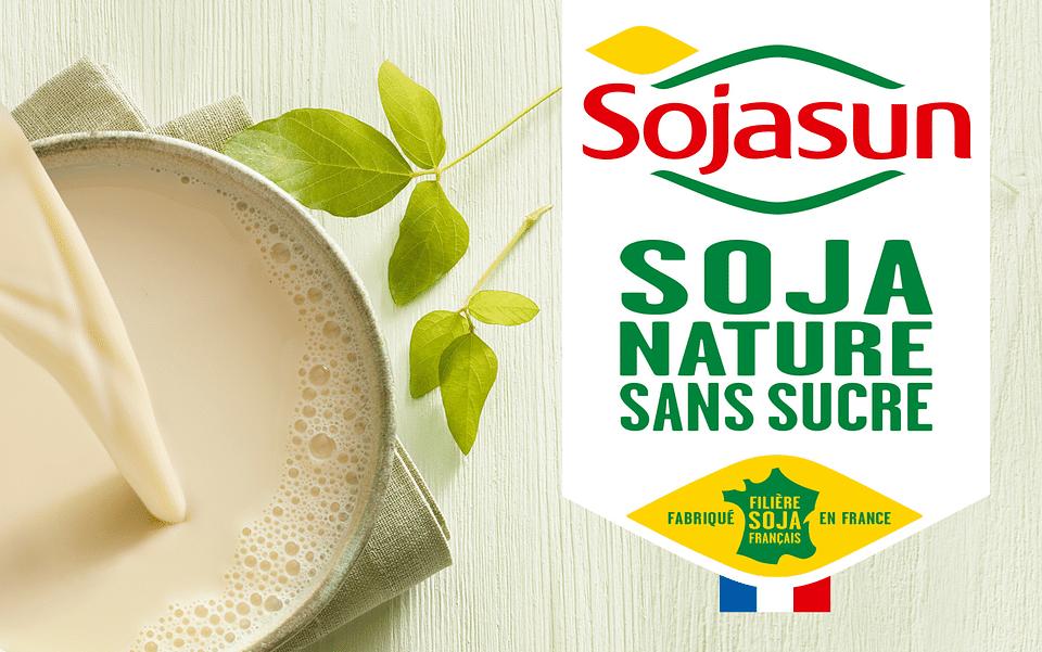 Plateforme de marque et packagings Sojasun