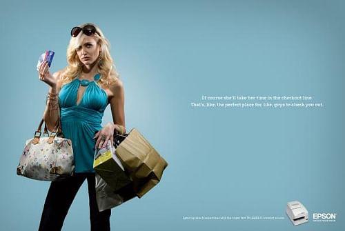 Credit princess - Advertising