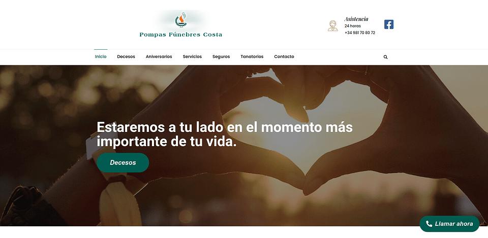 Página web PF Costa