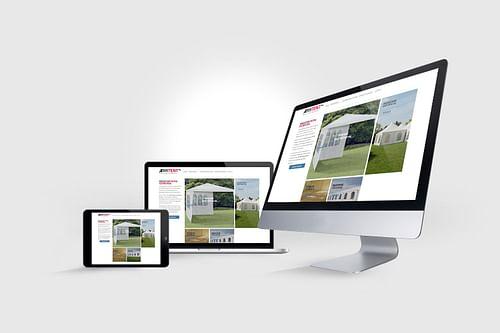 Responsive website voor Verhuurbedrijf - Website Creatie