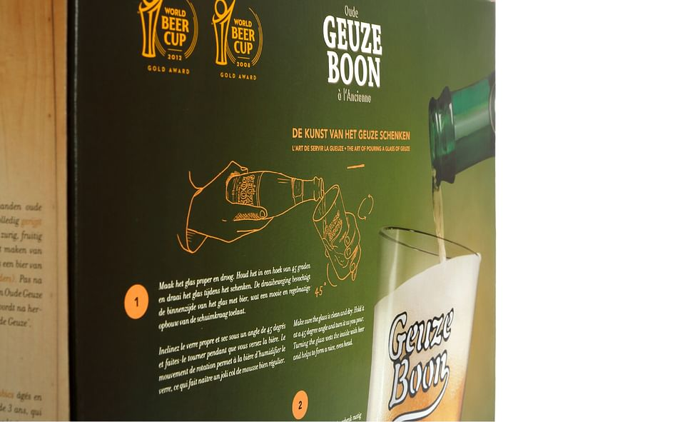 Packaging Oude Geuze Boon