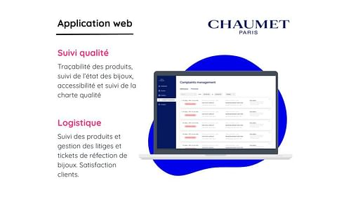 MAISON CHAUMET (LVMH) - Aplicación Web