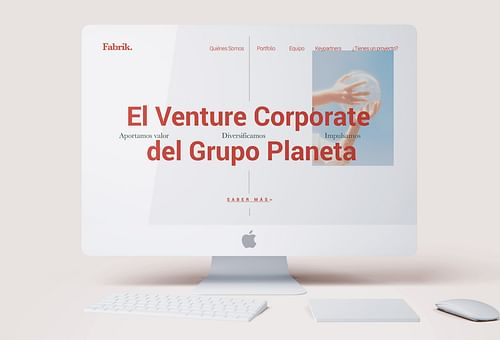 Grupo Planeta - Fabrik - Creación de Sitios Web