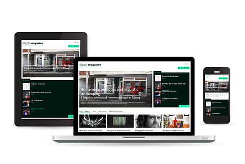 Agency Calibrate for Diggit Magazine Platform - Website Creatie