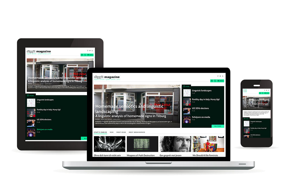 Agency Calibrate for Diggit Magazine Platform