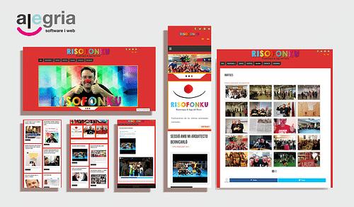 Mantenimiento de contenidos web - Creación de Sitios Web