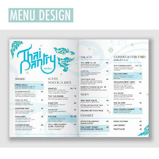 THAI PANTRY - Graphic design